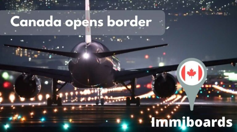 Canada Border opening officially announced
