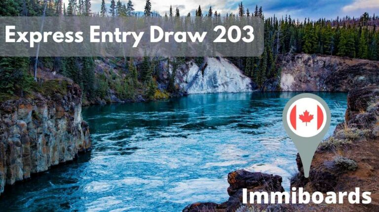 Express Entry Draw 203